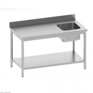 TABLE DE CHEF EN INOX 120CM...