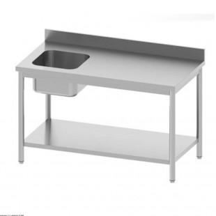 TABLE DE CHEF EN INOX 160CM...