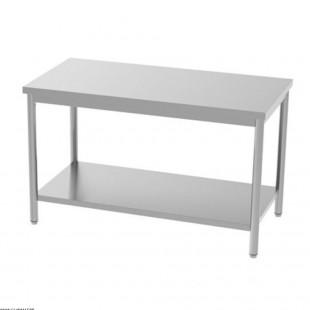TABLE EN INOX 160CM AVEC...