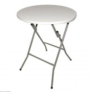 TABLE RONDE PLIANTE Ø60CM