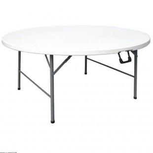 TABLE RONDE PLIANTE Ø1.52M
