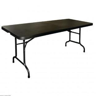 TABLE NOIRE PLIANTE BUFFET...