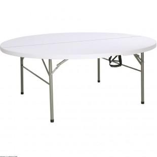 TABLE RONDE PLIANTE PAR LE...