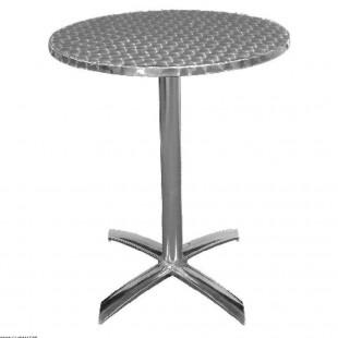 TABLE RONDE ALUMINIUM...