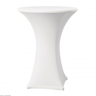 HOUSSE DE TABLE SAMBA BLANCHE