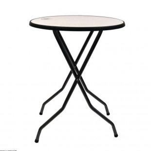 TABLE HAUTE BORD NOIR Ø...
