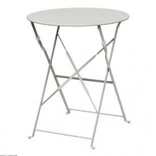 TABLE DE TERRASSE GRISE EN...