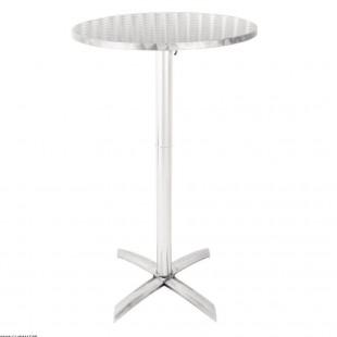 TABLE HAUTE ALUMINIUM MANGE...