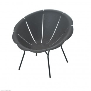 FAUTEUIL YEYE GRIS AMOBIS *ST