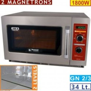 MICRO-ONDES GN2/3 INOX...