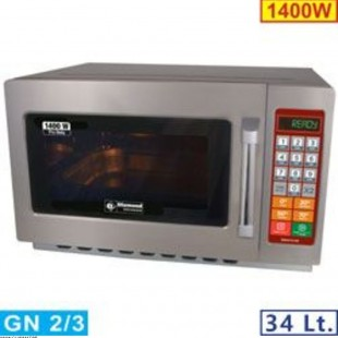 MICRO-ONDES INOX GN 2/3...