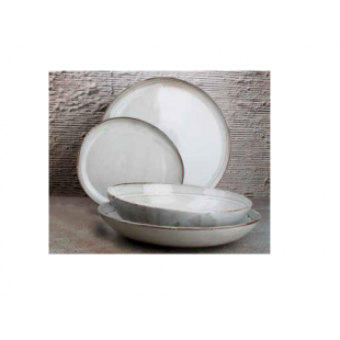 ASSIETTE PLATE FORME OVALE...