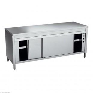 TABLE + CHAUFFE-ASSIETTES A...