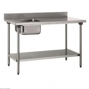TABLE DU CHEF EN INOX 120CM...